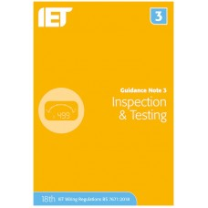 IET Guidance Note 3: Inspection & Testing (8th Edition)
