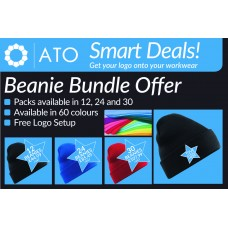 AT Beanie Mania - Available in packs of 12, 24 or 30