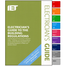 Stickers for the Electricians Guide to Building Regulations
