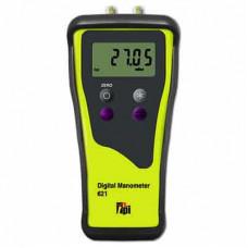 621 Dual Input Digital Manometer (2 Decimal Place Resolution)